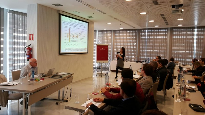 Photos of Carbon Nanotube Sensors and Mass Sensors in Madrid #27
