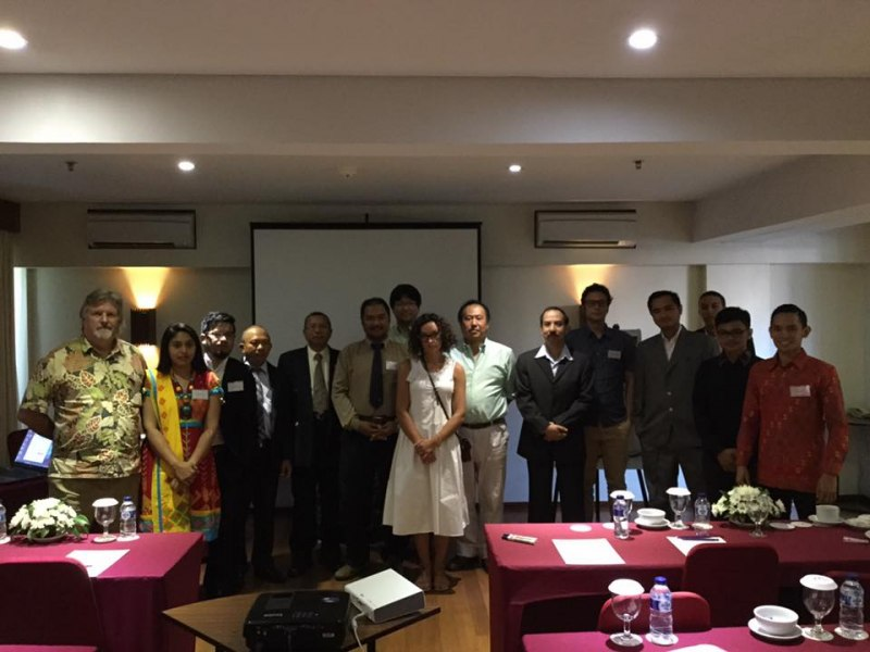 Photos of Advances in Geodesy and Geomatics Engineering in Bali #31