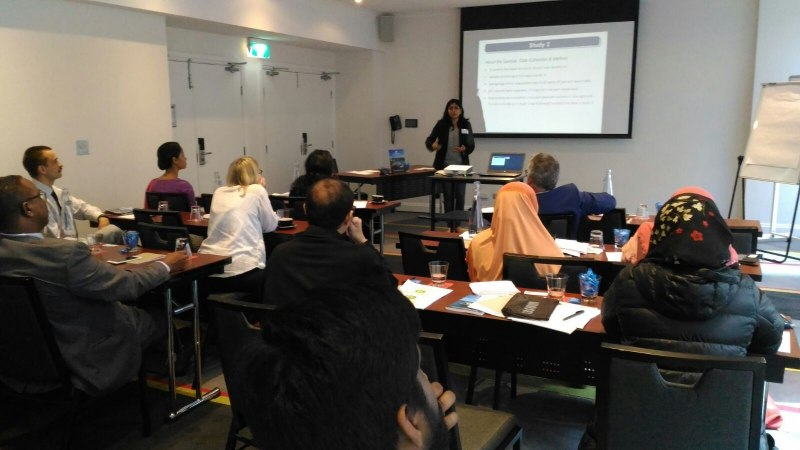 Photos of Multivariate Statistics and Stochastic Analysis in Sydney #48