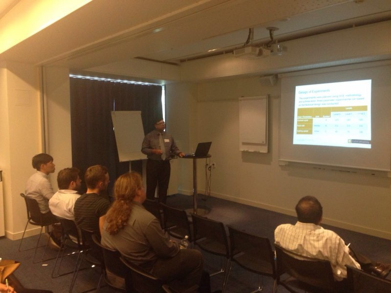 Photos of Information Management and Business Analytics in Stockholm #38