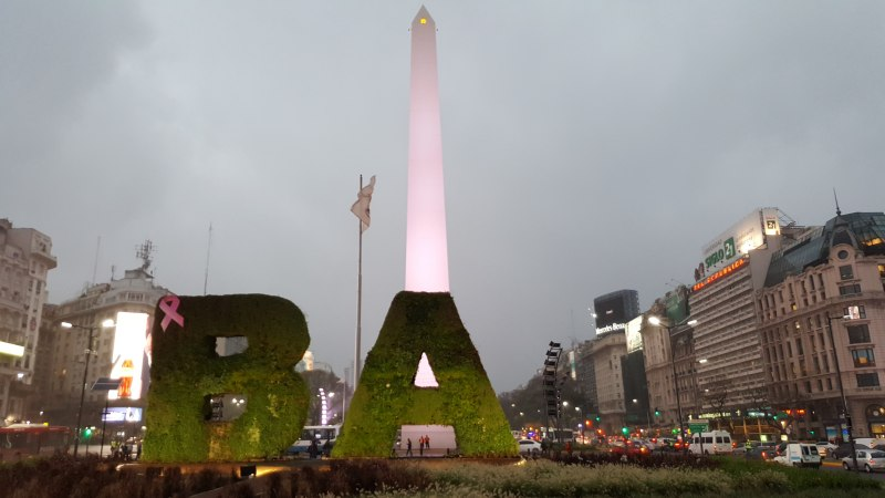 Photos of Particle Physics, Subatomic Particles, Antiparticles and Particle Exchange in Buenos Aires #10
