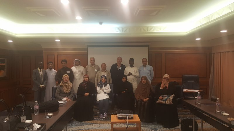 Photos of New Trends in Reflectarray and Transmitarray Antennas and Conformal and Non-Planar Reflectarrays in Jeddah #2