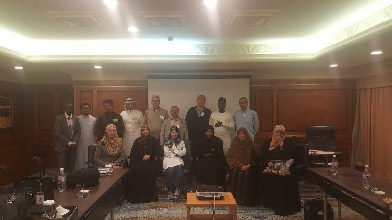 Photos of New Trends in Reflectarray and Transmitarray Antennas and Conformal and Non-Planar Reflectarrays in Jeddah #1