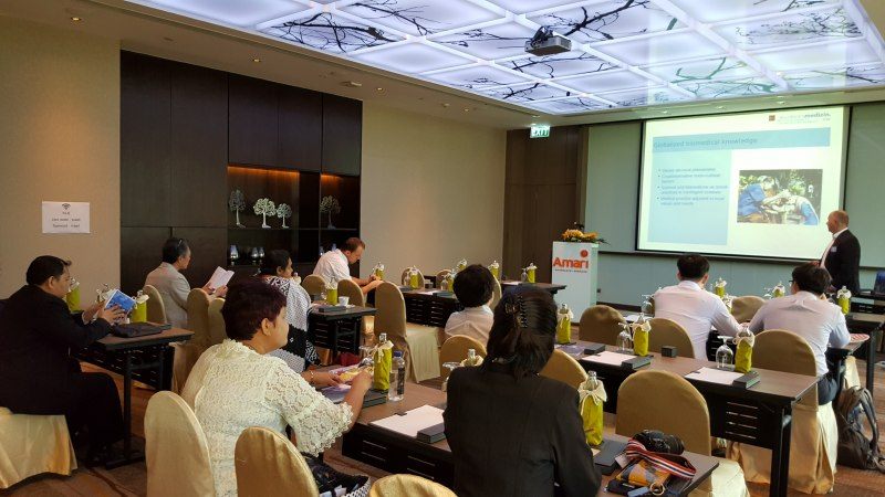 Photos of Analytic Chemistry and Applications in Bangkok #47