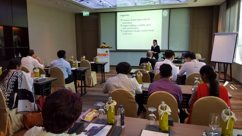 Photos of Analytic Chemistry and Applications in Bangkok #46