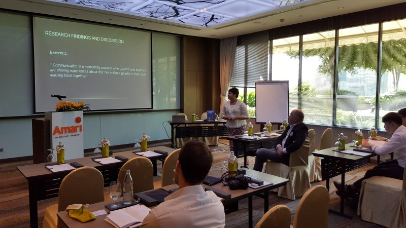 Photos of Global Geophysics and Mineralogy in Bangkok #45