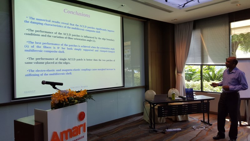 Photos of Advances in Computing, Electronics, Communications and Informatics in Bangkok #43