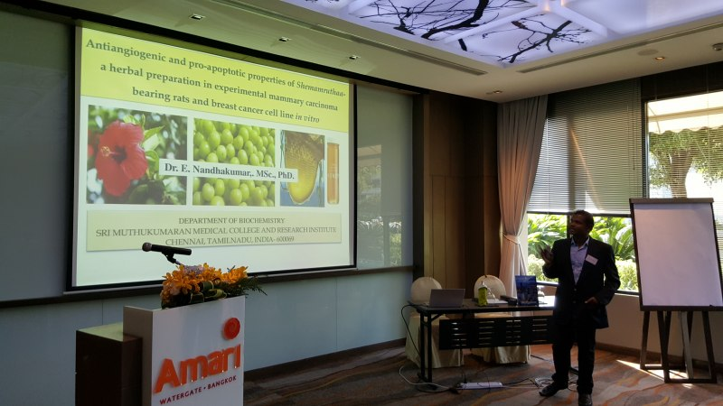 Photos of Advanced Astrophysics and Astrophysical Plasmas in Bangkok #42
