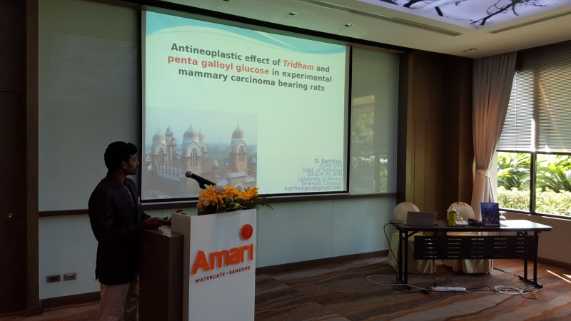 Photos of Nanobiotechnology and Therapeutic Nanodevices in Bangkok #40