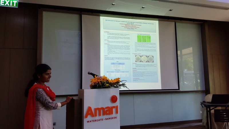Photos of Computational Genomics and Systems Biology in Bangkok #38