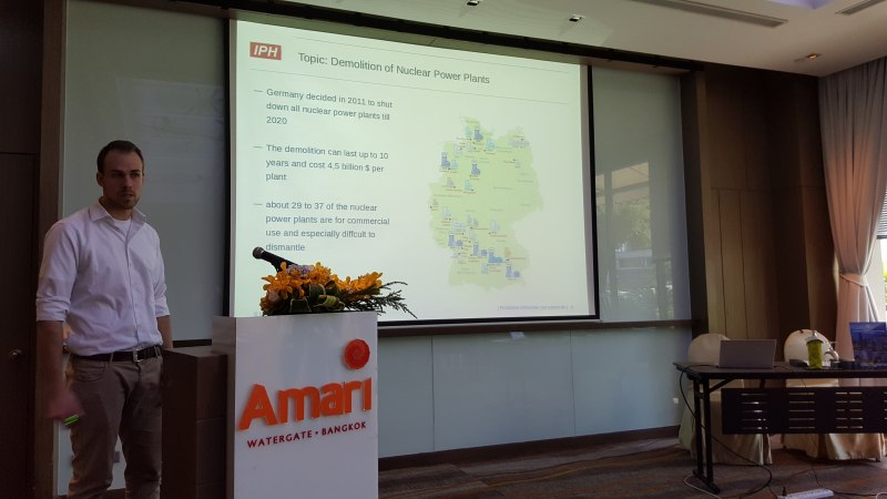 Photos of Advances in Forest Engineering and Technologies in Bangkok #37