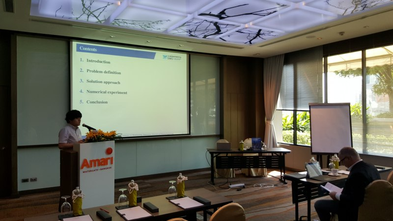 Photos of Evolutionary Computation and Data Mining in Bangkok #36