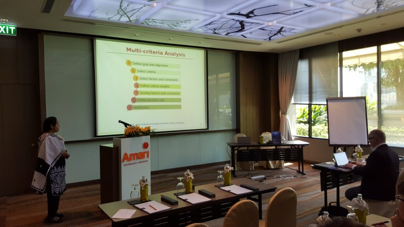 Photos of Geocoding Process, Digital Compilation and Database Design in Bangkok #35