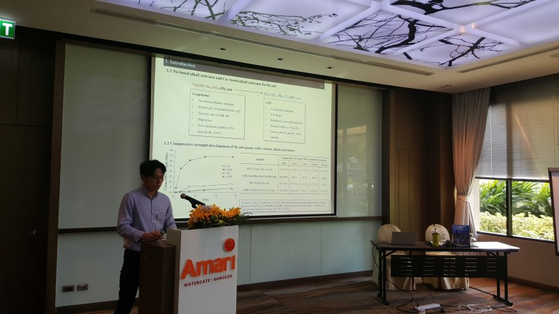 Photos of Advances in Experimental Mathematics and Applications in Bangkok #32