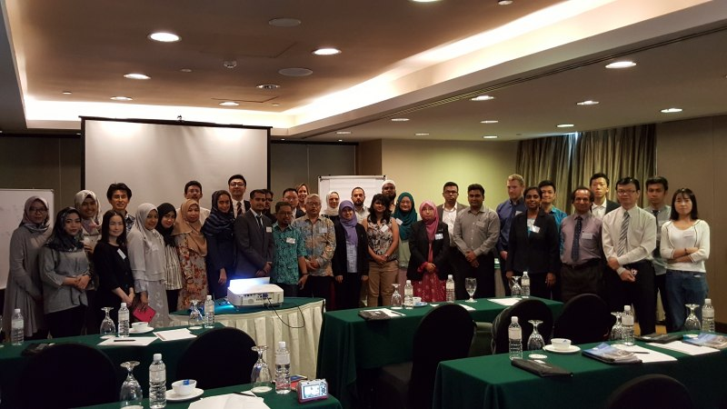Photos of New Trends in Reflectarray and Transmitarray Antennas and Reflectarrays with Advanced Performance in Kuala Lumpur #45