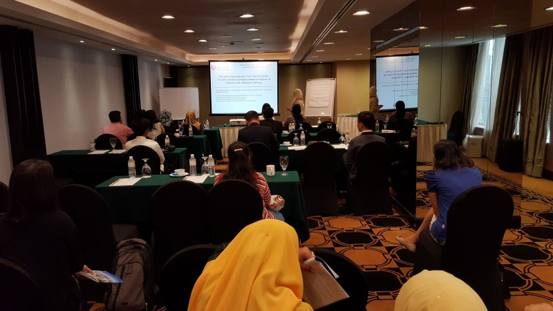 Photos of Computer Graphics Theory and Applications in Kuala Lumpur #16