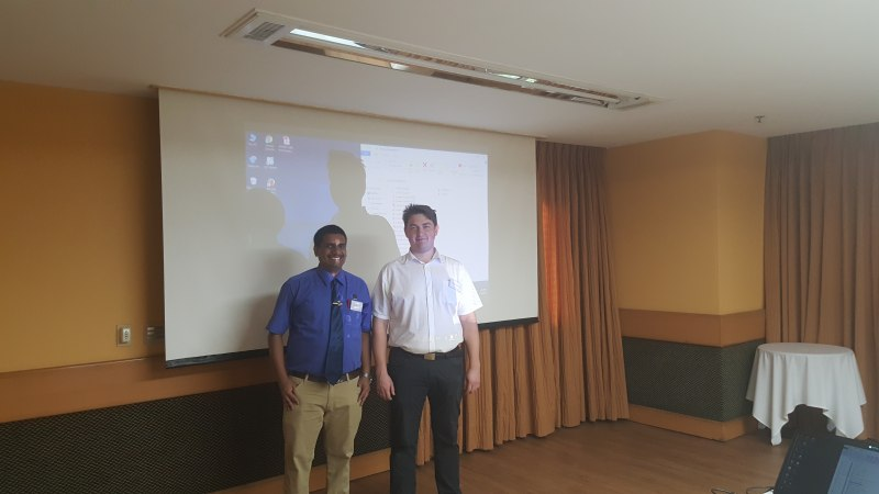 Photos of Quantum Control Engineering, Stability and Feedback in Rio de Janeiro #4