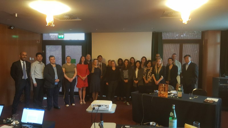 Photos of Advanced Nonwoven Composites in Rome #48