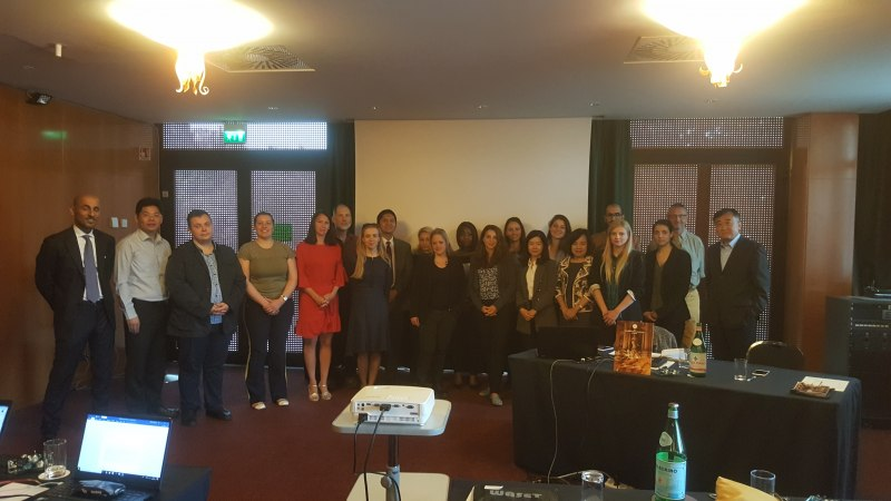 Photos of Palliative and Primary Care Bioethics in Rome #39