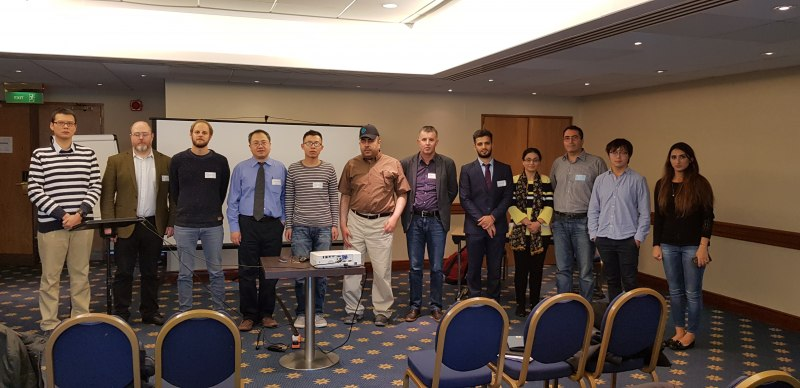 Photos of Heterocycles in Medicinal Chemistry and Biological Screening in London #49