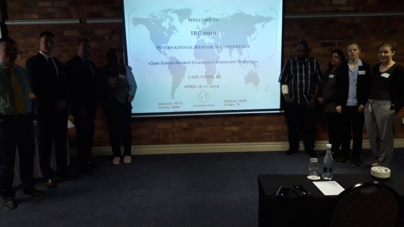 Photos of Digital Media Processing for Immersive Communications and Immersive Media User Interaction in Cape Town #7