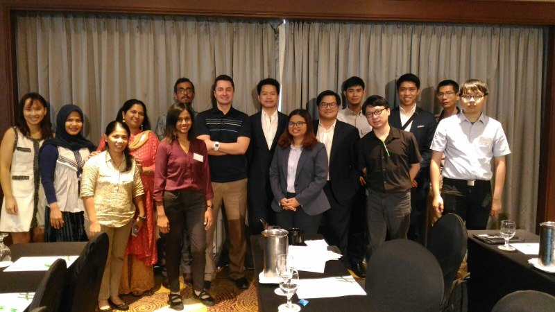 Photos of Network Robot Systems and Simulation in Singapore #31