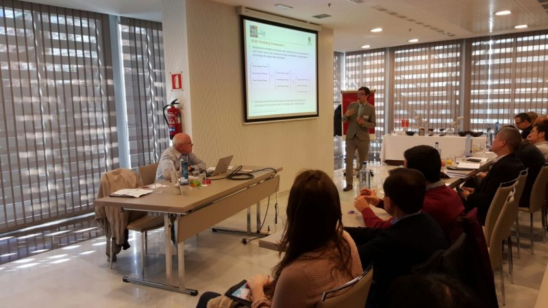 Photos of Cognitive Robotics and Applications in Madrid #37