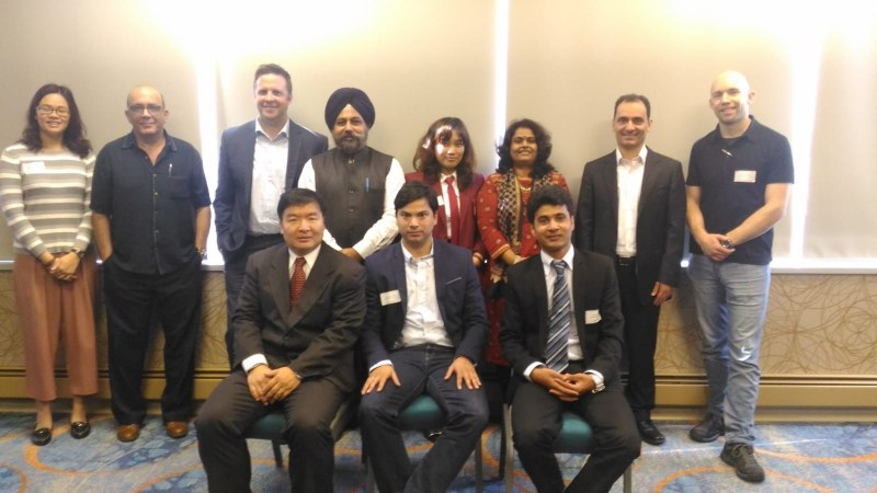 Photos of Teleinformatics, Information Technologies, Data Management and Modeling in Vancouver #5