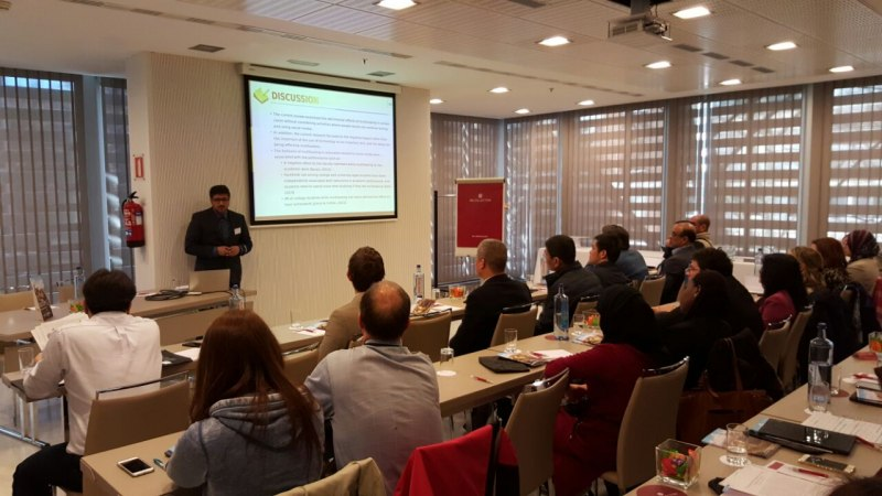 Photos of Environmental Geomatics and Environmental Remote Sensing in Madrid #42