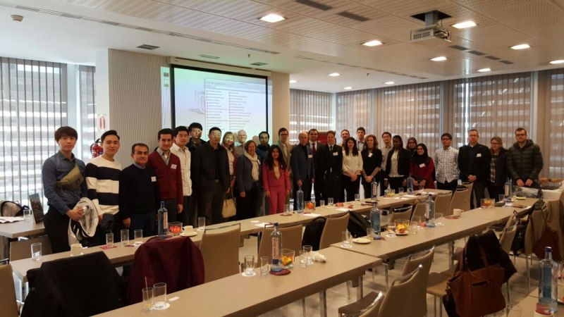 Photos of Applied Cryptography and Network Security in Madrid #36