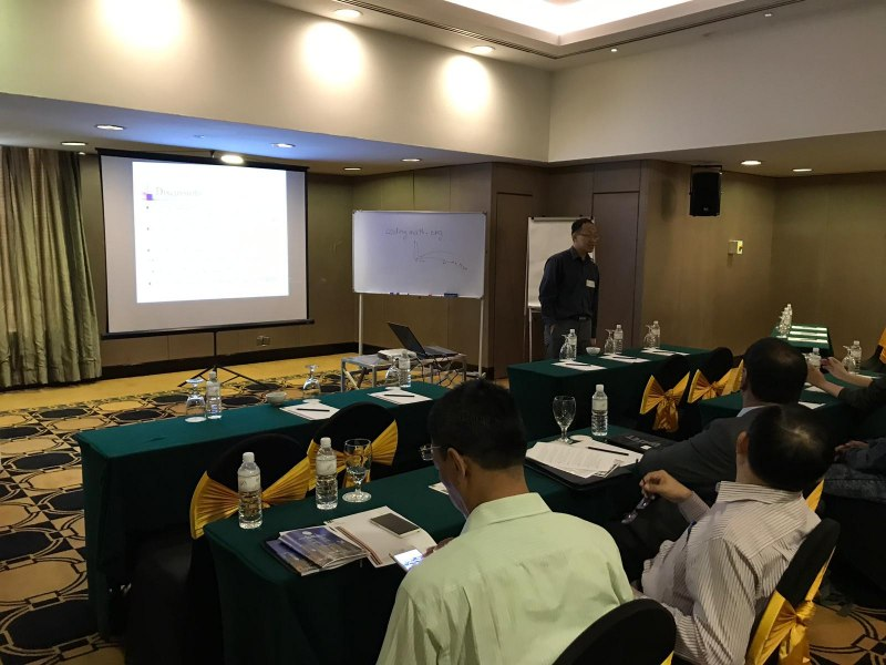 Photos of Recent Advances in Array Antenna and Array Signal Processing and Antenna Array Measurements in Kuala Lumpur #9