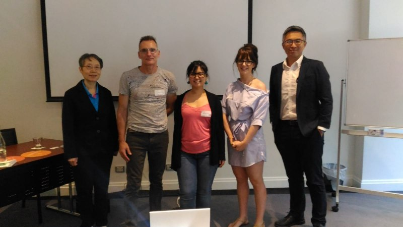 Photos of Language and Corpus Linguistics in Sydney #30