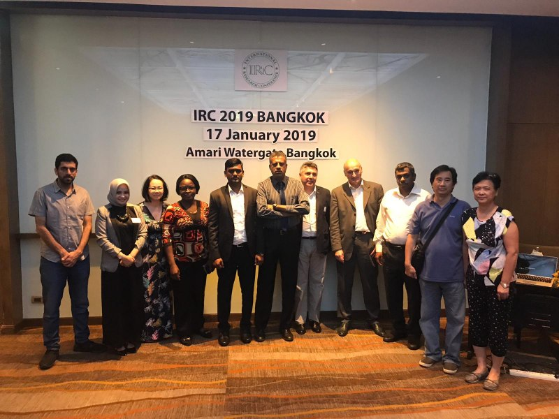 Photos of Global Geophysics and Mineralogy in Bangkok #10
