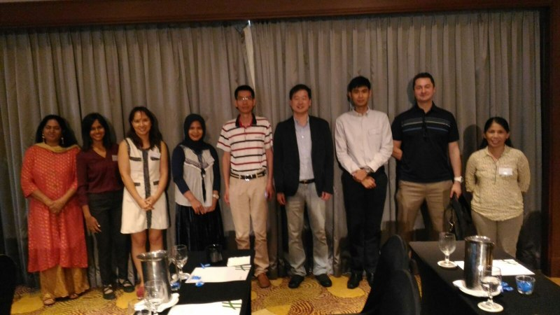 Photos of Network Robot Systems and Simulation in Singapore #29