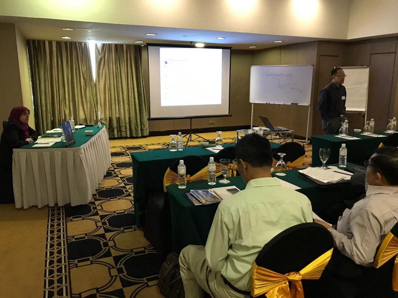 Photos of Recent Advances in Array Antenna and Array Signal Processing and Antenna Array Measurements in Kuala Lumpur #6