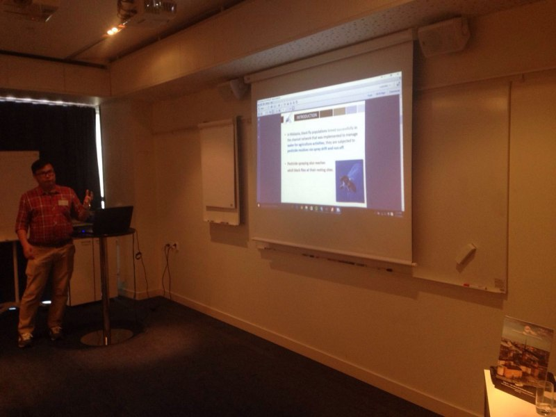 Photos of Applications of Electromagnetic Waves and Electromagnetic Modeling of Devices and Circuits in Stockholm #42