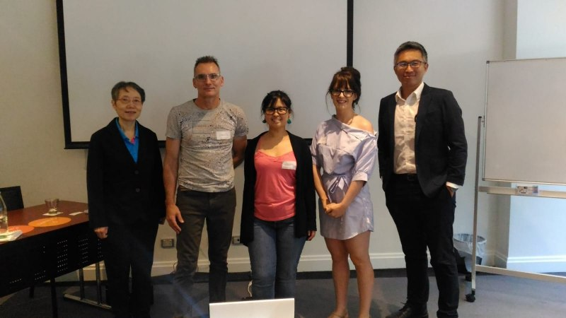 Photos of Applied Mathematics and Scientific Computing in Sydney #32