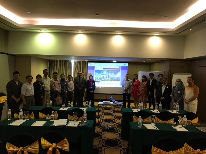 Photos of New Trends in Reflectarray and Transmitarray Antennas and Reflectarrays with Advanced Performance in Kuala Lumpur #7