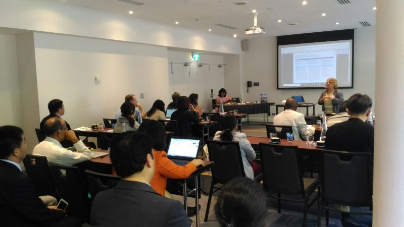 Photos of Biomolecular Kinetics, Molecular Modeling and Simulation in Sydney #40