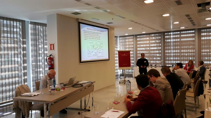 Photos of Carbon Nanotube Sensors and Mass Sensors in Madrid #32