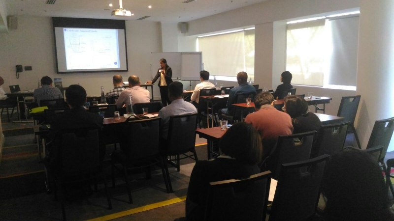 Photos of Biomolecular Kinetics, Molecular Modeling and Simulation in Sydney #43