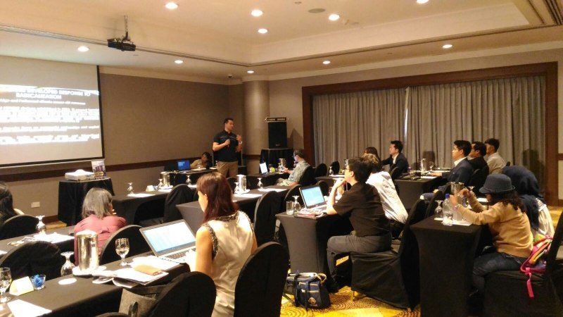 Photos of Network Robot Systems and Simulation in Singapore #28