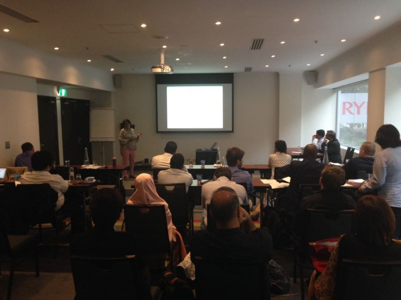 Photos of Biomolecular Kinetics, Molecular Modeling and Simulation in Sydney #9