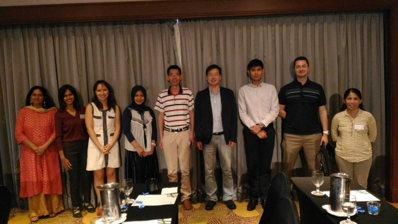 Photos of Network Robot Systems and Simulation in Singapore #27