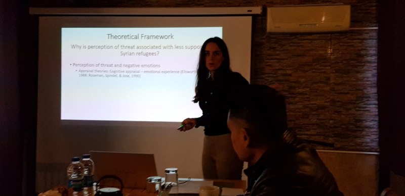 Photos of Mathematical and Theoretical Biology in Istanbul #27