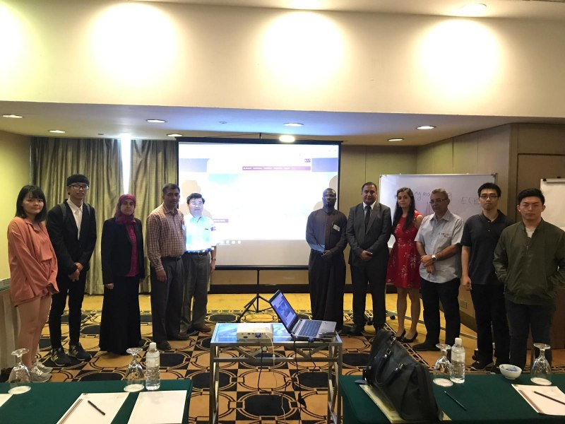 Photos of Recent Advances in Array Antenna and Array Signal Processing and Antenna Array Measurements in Kuala Lumpur #1