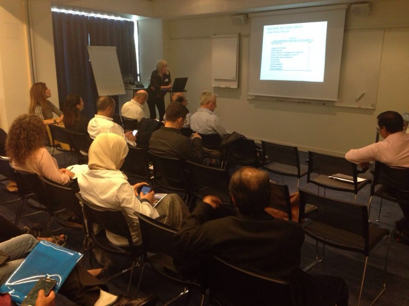 Photos of Information Management and Business Analytics in Stockholm #22