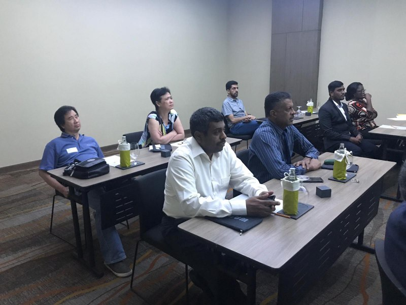 Photos of Advanced Commutative Algebras and Cryptography in Bangkok #5
