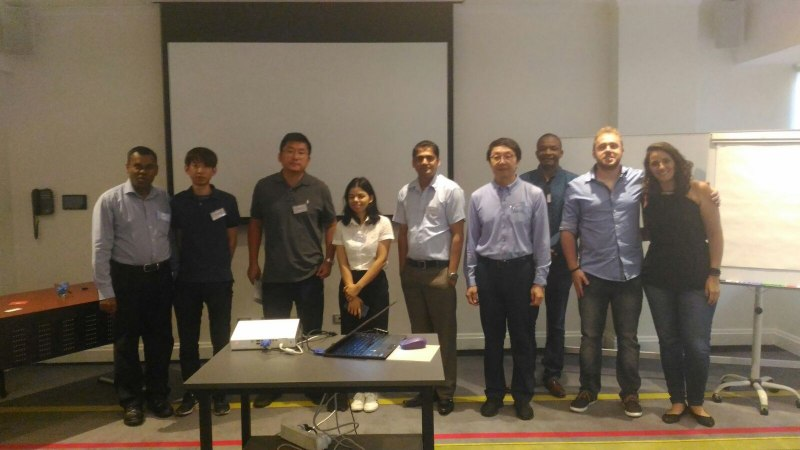 Photos of Biomolecular Kinetics, Molecular Modeling and Simulation in Sydney #45