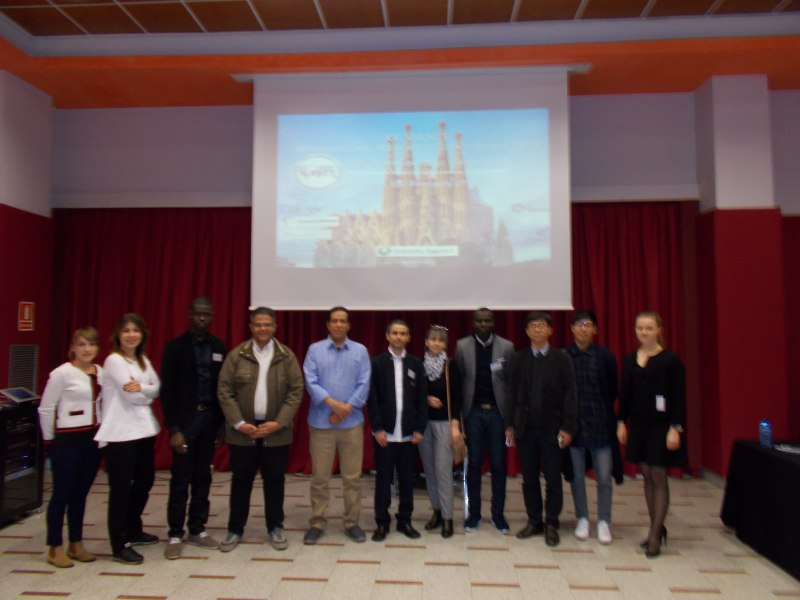 Photos of Design and Theoretical Study of New Antennas and Antenna Arrays Measurement in Barcelona #50